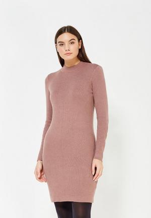 Платье Noisy May. Цвет: розовый