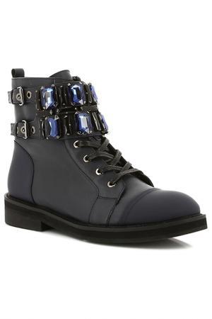 Ботинки Paolo Conte. Цвет: синий