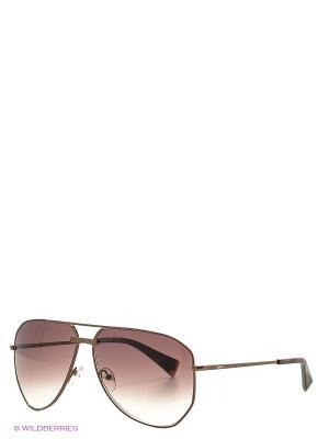 Солнцезащитные очки BLD 1620 101 Baldinini. Цвет: коричневый