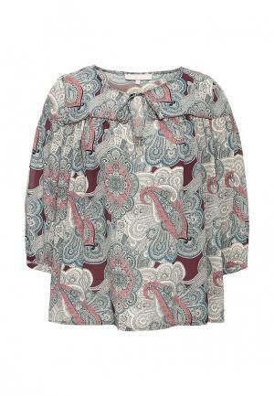 Блуза NewLily. Цвет: разноцветный