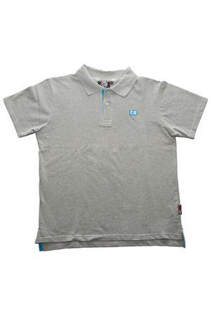 Рубашка-поло THE INDIAN FACE. Цвет: серый