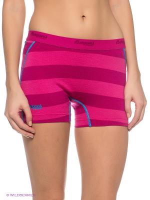 Термобелье-шорты Bergans. Цвет: фуксия, розовый
