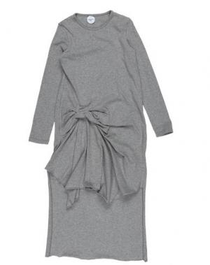 Платье PARROT. Цвет: серый