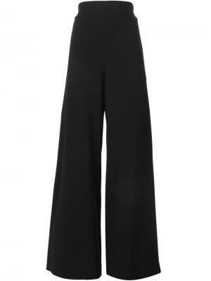Широкие брюки Sybilla. Цвет: чёрный