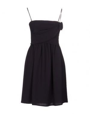 Короткое платье LIST. Цвет: темно-фиолетовый