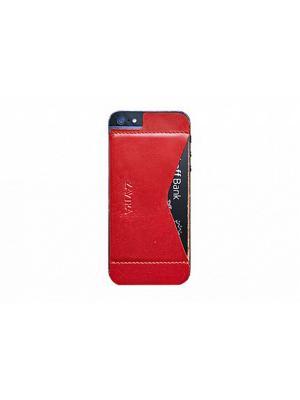 Кошелек-накладка для iPhone 5/5s/SE ZAVTRA. Цвет: красный