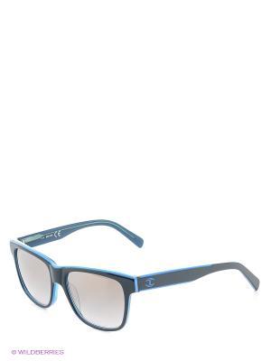 Солнцезащитные очки JC 641S 95С Just Cavalli. Цвет: голубой