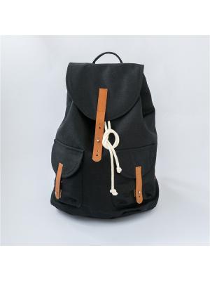 Городской рюкзак TIMBAG. Цвет: черный, прозрачный