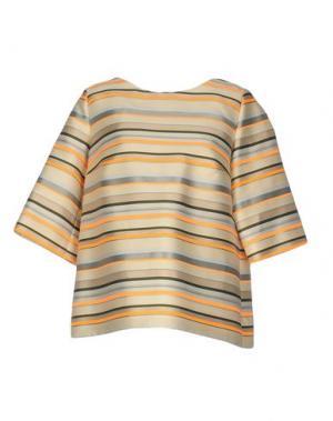 Блузка NATAN. Цвет: бежевый