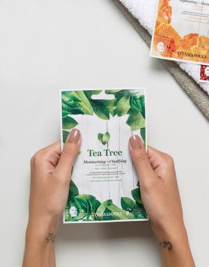Vitamasque Очищающая и увлажняющая маска-салфетка с экстрактом чайного дерева Vit. Цвет: бесцветный