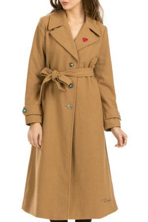 Пальто Desigual. Цвет: sand