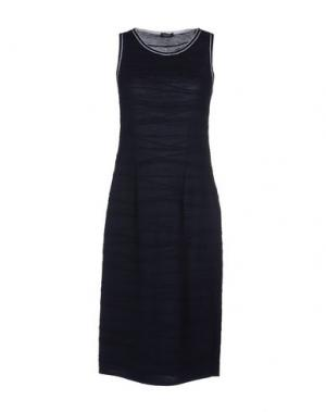 Платье до колена NEERA. Цвет: темно-синий