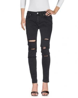 Джинсовые брюки SUPERTRASH. Цвет: стальной серый