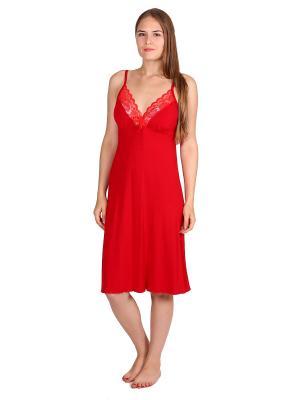 Ночная сорочка Flip. Цвет: красный