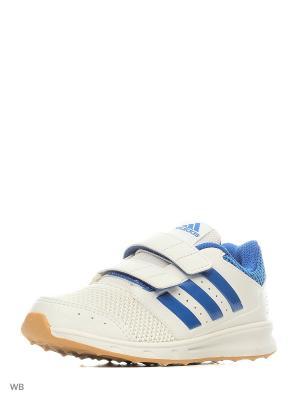 Кроссовки дет. спорт. lk sport 2 cf k  FTWWHT/BLUE/GUM3 Adidas. Цвет: белый