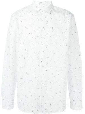 Рубашка с принтом A.P.C.. Цвет: белый