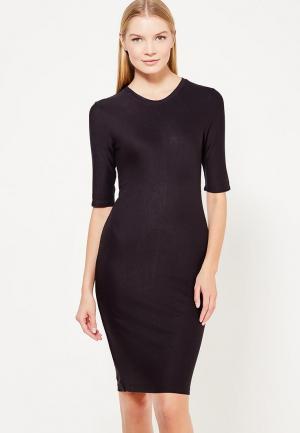 Платье Armani Exchange. Цвет: черный