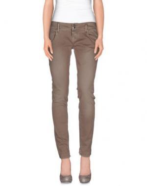 Джинсовые брюки CYCLE. Цвет: голубиный серый