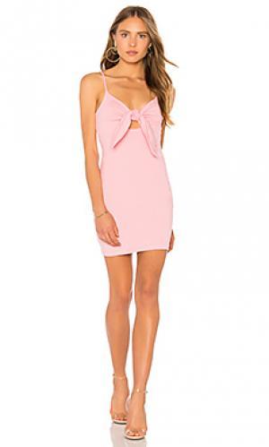 Мини платье isadora Susana Monaco. Цвет: розовый