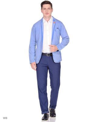 Пиджак Colours & sons. Цвет: голубой