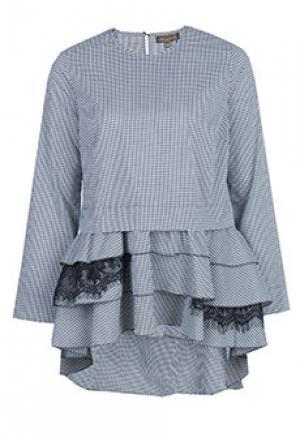 Рубашка VIA TORRIANI 88. Цвет: серый