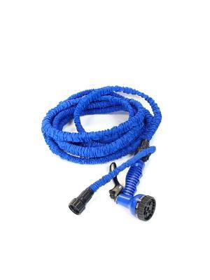 Шланг-гармошка поливочный BRADEX. Цвет: синий