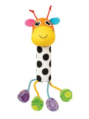Погремушка Звонкий жираф LAMAZE.. Цвет: белый