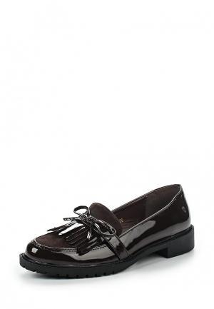 Лоферы WS Shoes. Цвет: коричневый