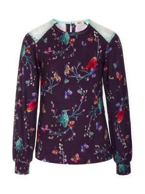 Блузка M&DCollection. Цвет: фиолетовый