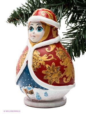 Копилка Mister Christmas. Цвет: красный, золотистый, белый