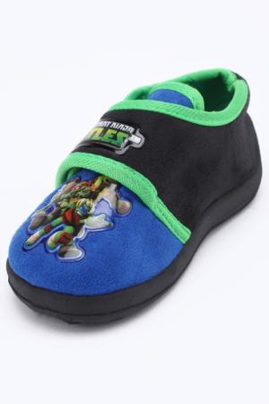Полуботинки Turtles. Цвет: голубой, зеленый, черный