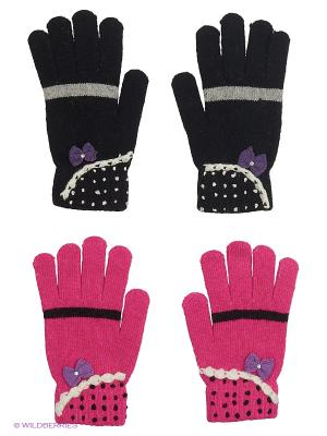 Перчатки FOMAS. Цвет: черный, серый, фиолетовый, фуксия