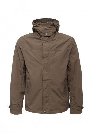 Куртка Vanzeer. Цвет: коричневый