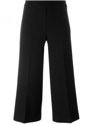 Укороченные брюки клеш P.A.R.O.S.H.. Цвет: чёрный