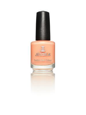 Лак для ногтей  #391 Tutti-Frutti, 14,8 мл JESSICA. Цвет: светло-оранжевый