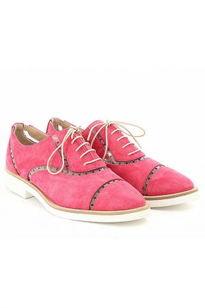 Ботинки Emporio Armani. Цвет: фуксия