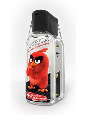 Гель гигиенический для у рук с антибактериальным эффектом Angry Birds 2шт*50 мл. Цвет: прозрачный