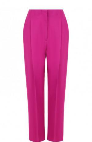 Однотонные укороченные брюки со стрелками 3.1 Phillip Lim. Цвет: фуксия