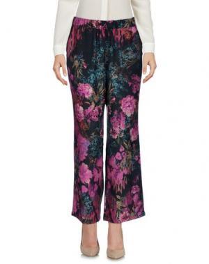 Повседневные брюки AGNESE GALLAMINI. Цвет: фуксия
