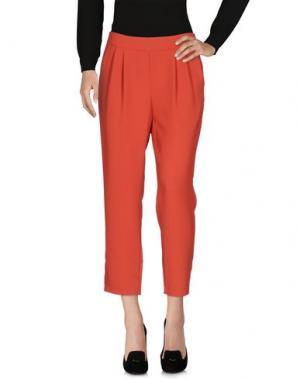 Повседневные брюки TOUPY. Цвет: ржаво-коричневый