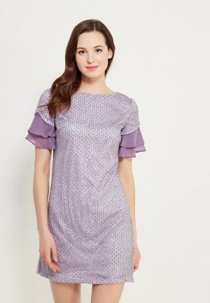 Платье Isabel Garcia. Цвет: фиолетовый