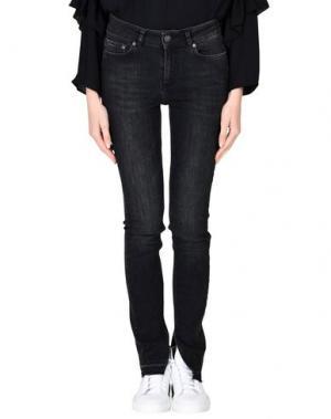Джинсовые брюки TWIST & TANGO. Цвет: стальной серый