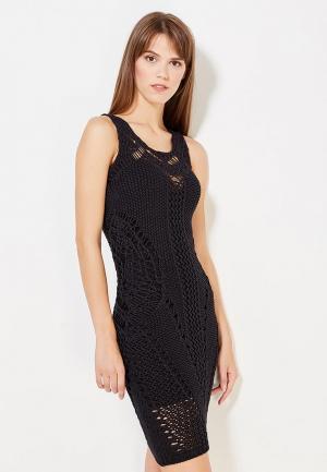 Платье Brusnika. Цвет: черный