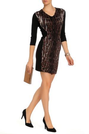 Платье D.Exterior. Цвет: леопардовый