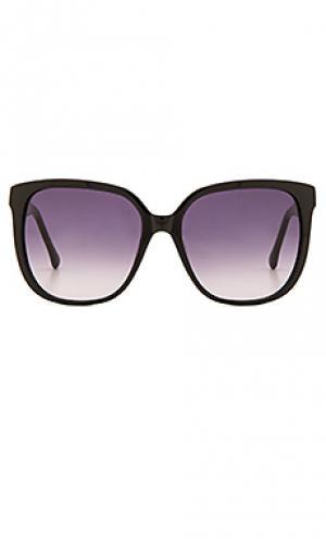 Солнцезащитные очки elmont Steven Alan. Цвет: черный