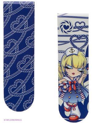 Набор закладок Морячка Салли Kimmidoll. Цвет: синий, белый