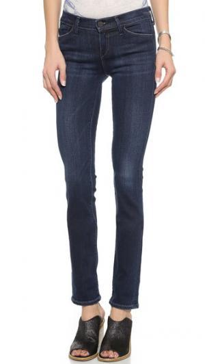 Прямые джинсы Misfit GOLDSIGN. Цвет: голубой