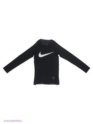Лонгслив COOL HBR COMP LS YTH Nike. Цвет: черный