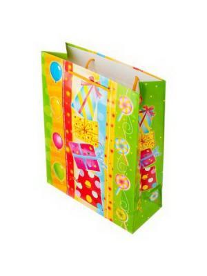 Пакет подарочный бумажный KONONO. Цвет: розовый