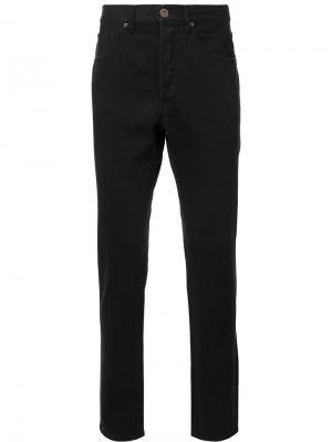 Зауженные джинсы 321. Цвет: чёрный